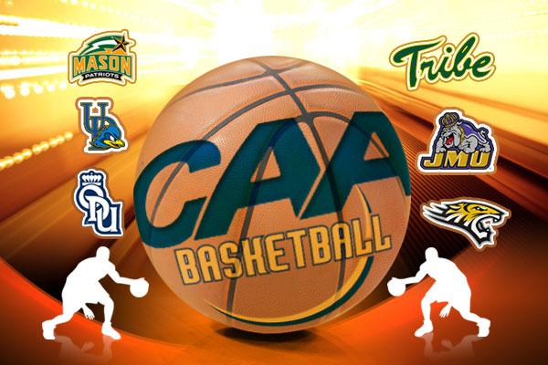 CAA Basketball Collage