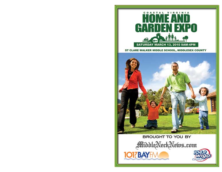 Home and Garden Expo Brochure Cover