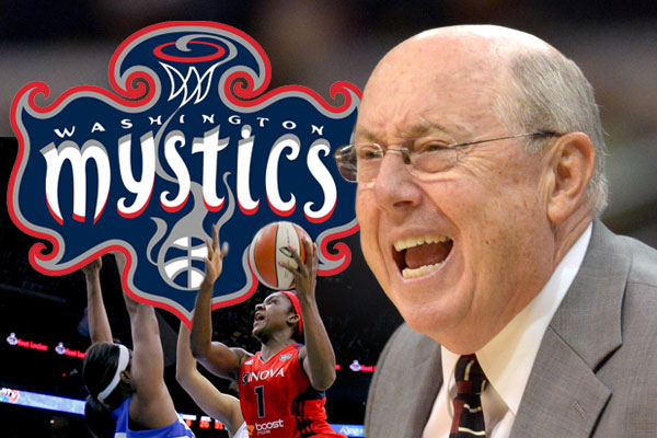 Mike Thibault - Mystics Graphic