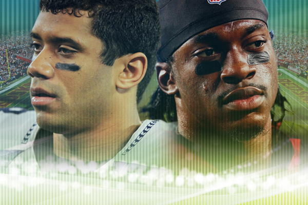 Russell Wilson and RGIII