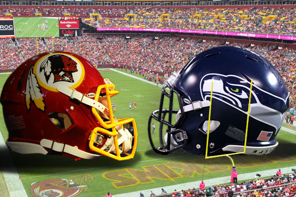 Seahawks vs Redskins post-game Analysis Graphic