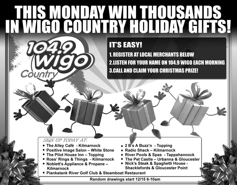 WIGO Counry Holiday Print Ad