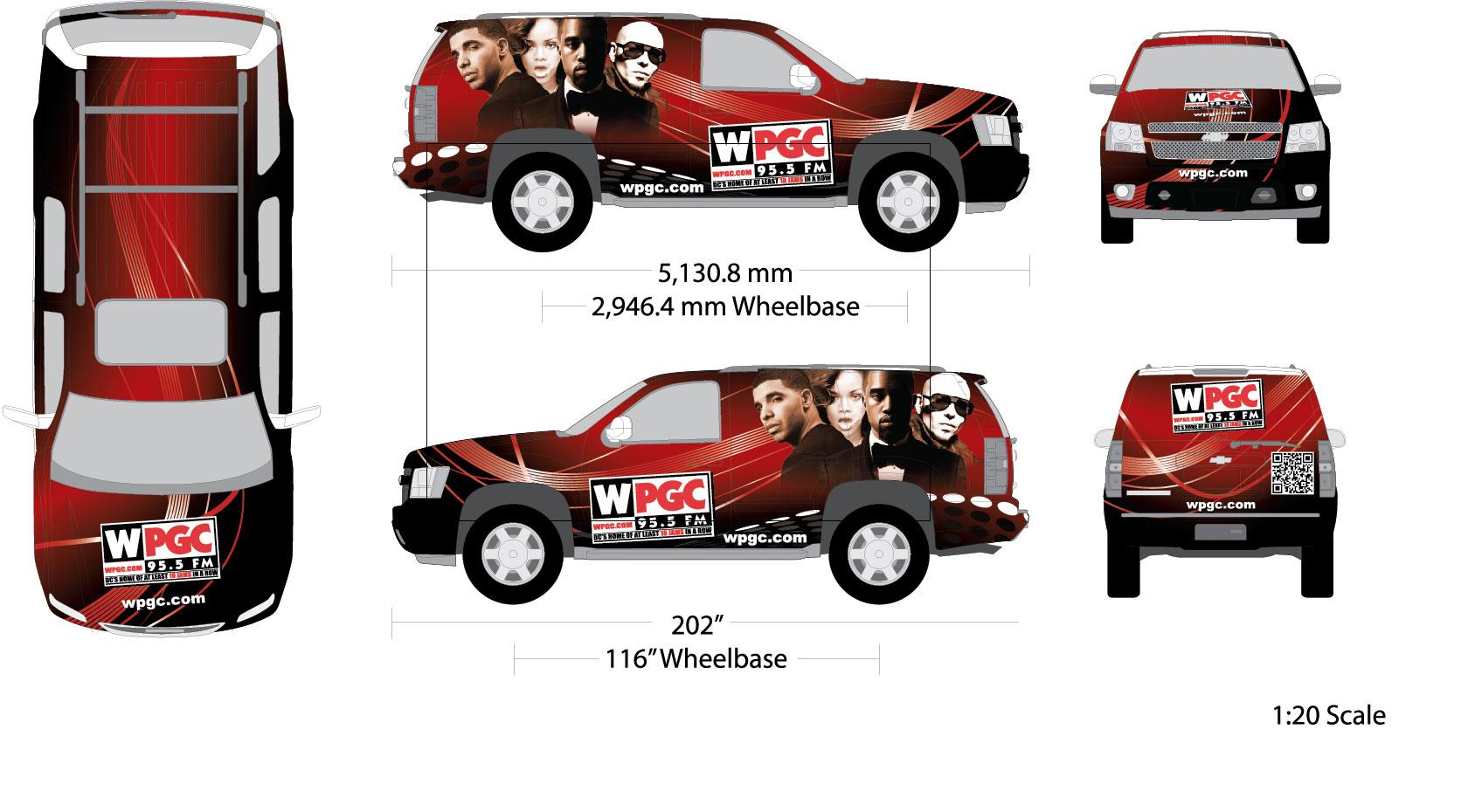 WPGC Van Wrap - 2012
