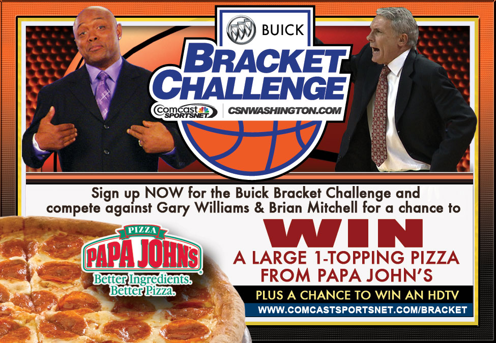 Buick Bracket Challenge - Print Ad