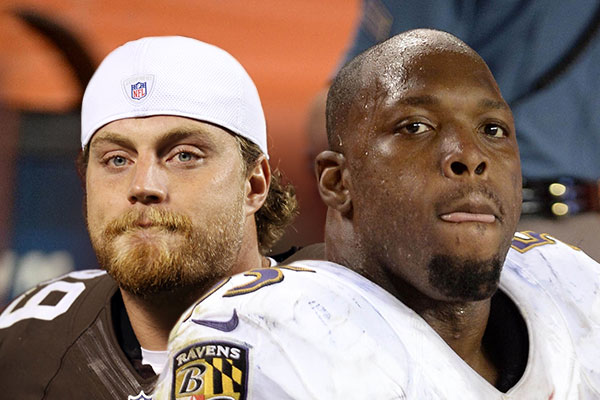 Paul Kruger vs Terrell Suggs