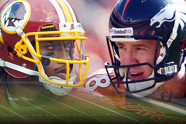 RG3 vs Peyton Manning