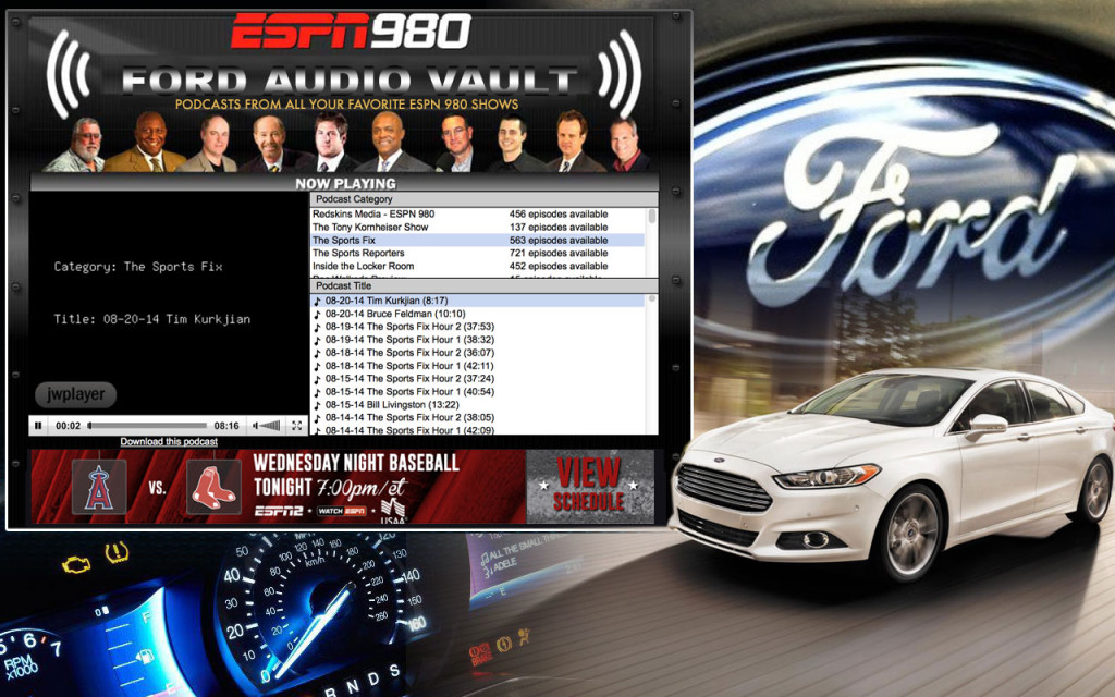 AudioVault Sample Takeover - FORD 2014 Campaign Spec