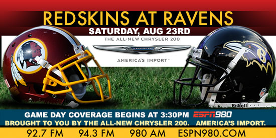 Redskins at Ravens